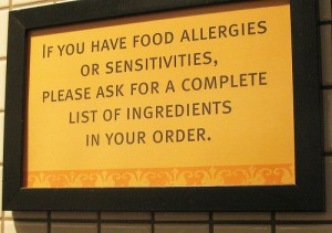 Allergy-sign